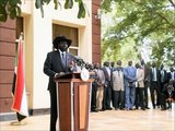 Kiir is a Dinka, though of a different clan than former Southern Sudan president John Garang. In the late 1960s, Kiir joined the Anyanya in the First Sudanese Civil War. By the time of the 1972 Addis Ababa Agreement, he was a low-ranking officer. In 1983, when Garang joined an army mutiny he had been sent to put down, Kiir and other Southern leaders joined the rebel Sudan People's Liberation Movement (SPLM) in the second civil war. Kiir eventually rose to head the SPLA's military wing.<br/><br/>  After the death of Garang in a helicopter crash on 30 July 2005, he was chosen to succeed to the post of First Vice President of Sudan and President of Southern Sudan. He is popular among the military wing of the SPLM for his battlefield victories and among the populace for his unambiguous pro-secession stance.<br/><br/>  Kiir was re-elected with 93% of the vote in the 2010 Sudanese election.